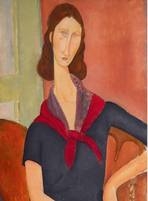 'Jeanne Hébuterne (au foulard)'.