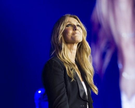 Geen glitters voor Céline Dion.