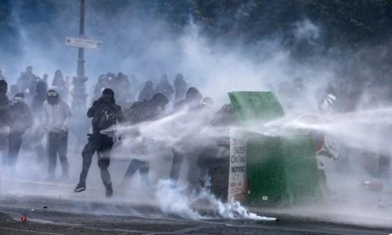 Uit angst voor nieuwe rellen werd de demonstratie van vandaag aanvankelijk nog verboden