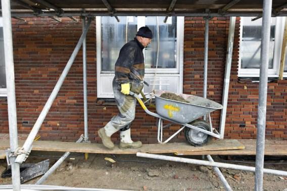 Hevige regenval leidt tot vertragingen op bouwwerven