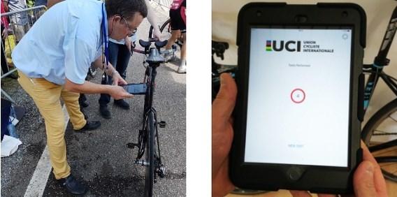 Alle fietsen op BK tijdrijden gecontroleerd met nieuw instrument