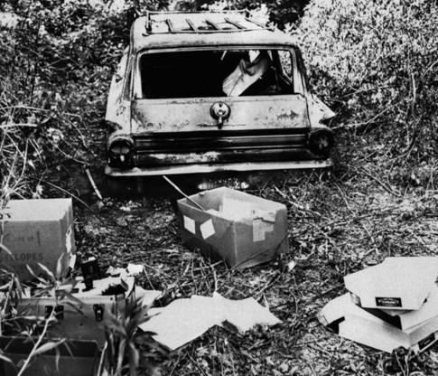 """<p>Archiefbeeld (juni 1964) van de wagen waarmee de drie vermoorde studenten zich verplaatsten.<span class=""""credit"""">ap</span></p>"""
