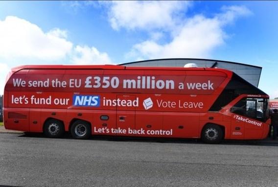 Eerste Brexit-belofte al gebroken: '350 miljoen per week naar gezondheidszorg, was foute bewering'