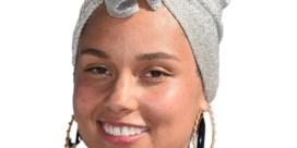 Alicia Keys houdt woord
