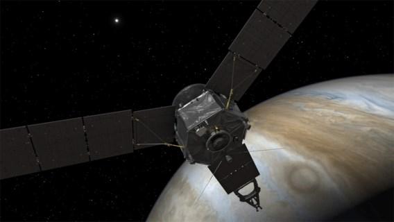 Amerikaanse sonde Juno met succes in baan rond Jupiter terechtgekomen