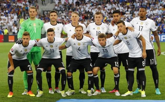 Duitse politica: 'Volgende keer moet <b>nationale elftal</b> weer spelen'