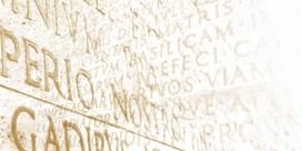 Is het Latijn aan het eind van zijn Latijn?