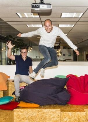 Louis Jonckheere (l.) en Pieterjan Bouten: 'De dag dat we veel geld verdienen, zullen we daar nieuwe dingen mee creëren.'