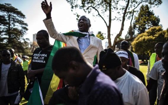 Evan Mawarire, een priester, leidt de protesten.