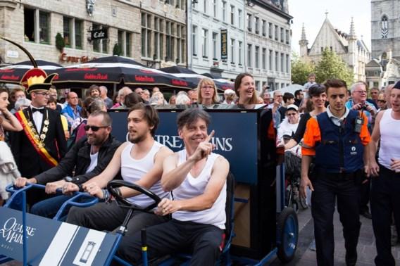 Minder bezoekers op eerste dag Gentse Feesten