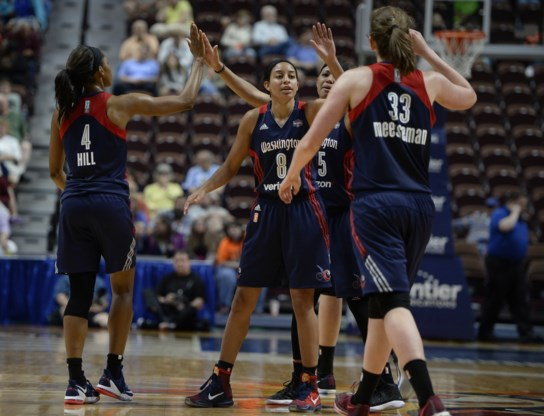 WNBA. Meesseman verliest, Wauters blijft winnen