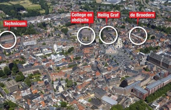 De vier scholen van de KCST-groep huizen al decennia in het centrum van Sint-Truiden.