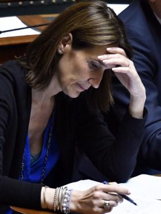 Minister van Begroting Sophie Wilmès.