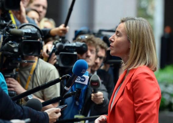 Mogherini: 'Turkije met doodstraf kan geen EU-lid zijn'