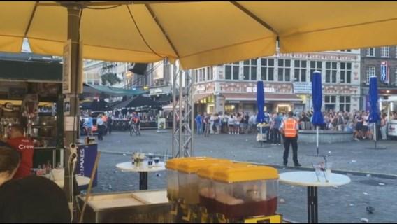 Gentse Feesten: Korenmarkt even ontruimd, concert stilgelegd