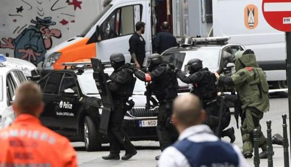 De veiligheidsdiensten rukten uit in vol ornaat. Maar uiteindelijk bleek er niks aan de hand.