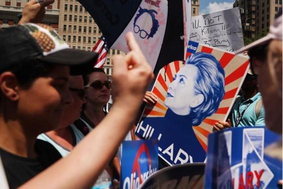 Zowel binnen als buiten de Democratische partij heeft Hillary Clinton nog heel wat harten te winnen.