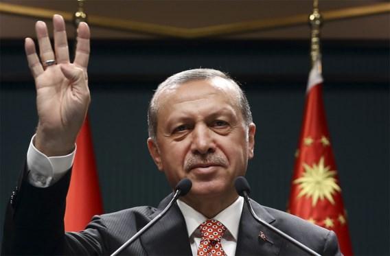Erdogan: 'De doodstraf bestaat bijna overal, behalve in Europa'