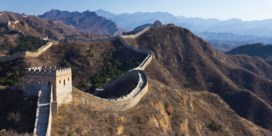 Chinese Muur brokkelt af omdat stenen worden gestolen