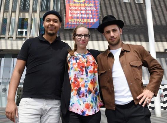 Alexander Wahba, Sophie Vanneste en Matthijs Spittel.