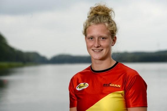 Hermien Peters is Europese kampioene U23 K1 500m