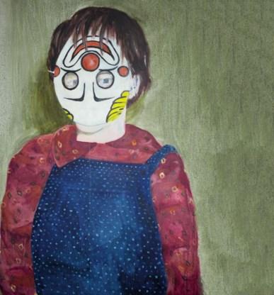 Het campagnebeeld van het MAfestival werd geschilderd door Elise Debrock.