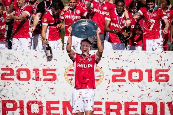 Aanvoerder Luuk de Jong langer bij PSV