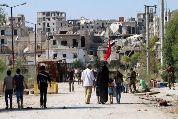 Burgers verlaten Aleppo dankzij humanitaire corridors