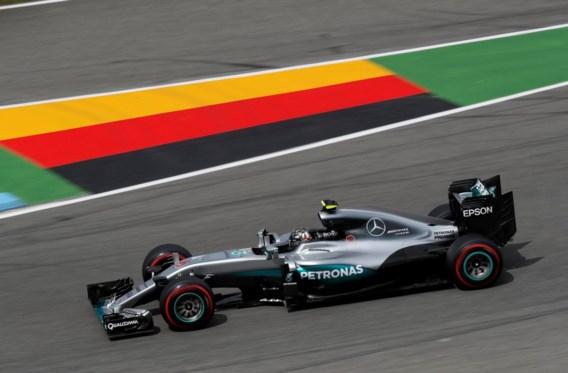 Rosberg ook snelste tijdens laatste oefensessie GP van Duitsland
