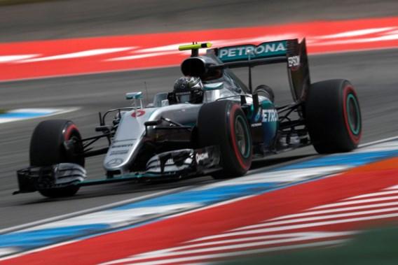 Nico Rosberg verovert polepositie GP van Duitsland