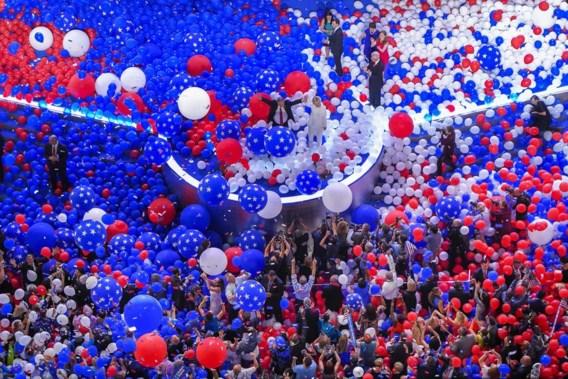 Democraten in Philadelphia: een feest.