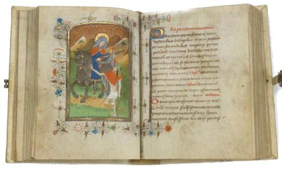 De nieuwste aanwinst van de Brugse bibliotheek: een piepklein boekje uit 1430 met miniaturen.