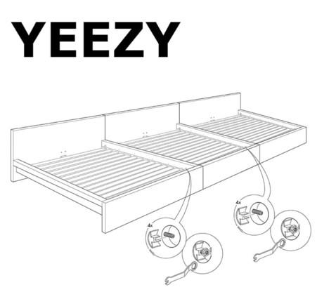 De 'Yeezy': Ikea meets Kanye.
