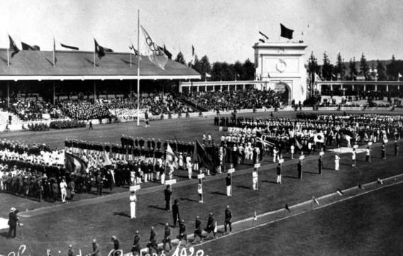 Roemvol verleden: in 1920 gingen de zevende Olympische Zomerspelen door in Antwerpen.