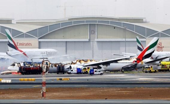 Vliegverkeer op luchthaven Dubai nog altijd verstoord na crash