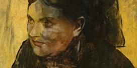 Overschilderd portret  van Degas blootgelegd