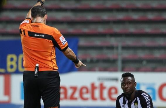Charleroi tekent beroep aan tegen twee speeldagen schorsing voor N'Ganga