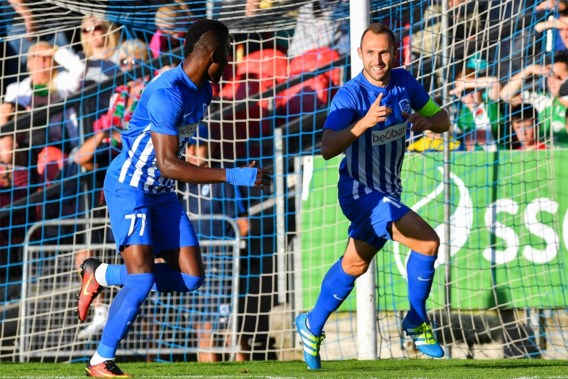 Genk rolt Cork ook in terugmatch op en speelt play-offronde Europa League