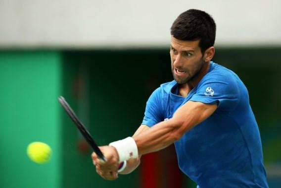 Zware opener voor Djokovic op Olympische Spelen