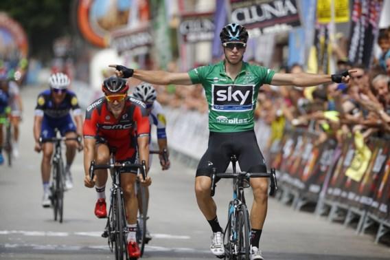 Van Poppel weer aan het feest in Ronde van Burgos