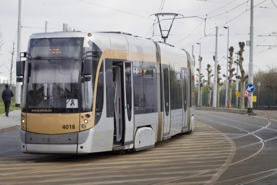 Zeven gewonden nadat twee trams botsen in Brussel