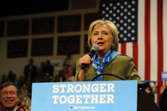 Peiling: Clinton heeft ruime voorsprong op Trump