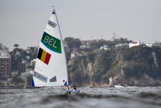"""<p>Evi Van Acker startte sterk, maar viel terug in de tweede regatta van de openingsdag.<span class=""""credit"""">belga</span></p>"""