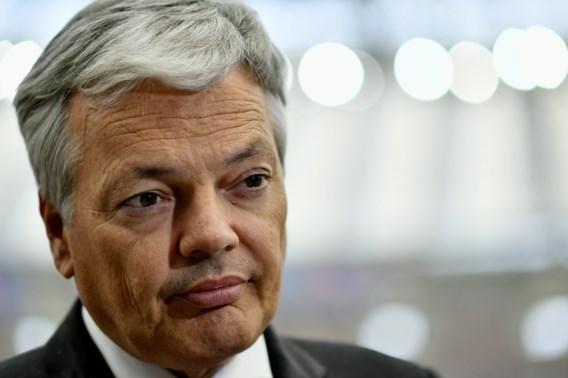 Ook Reynders wil onderhandelingen met Turkije bevriezen