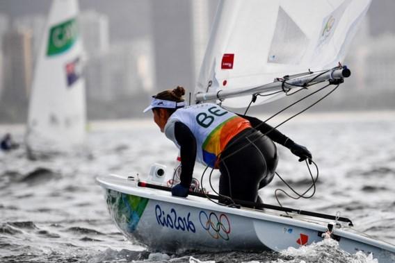 """<p>Het was een moeilijke dag voor Evi Van Acker.<span class=""""credit"""">belga</span></p>"""
