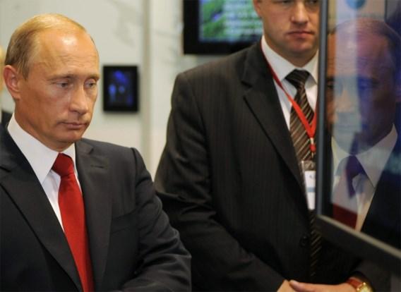 Spierballenvertoon aan de Krim