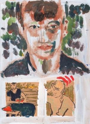 De graphic novel-versie van Nel Wouters.