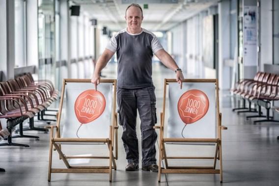 """<p>Jean-Marie Aerts, de man achter de stoel.<span class=""""credit"""">Guy Puttemans</span></p>"""