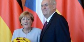 Mogelijke aanslag op Angela Merkel verijdeld
