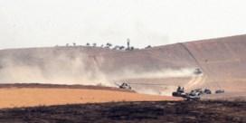 Turkije graaft zich in in het noorden van Syrië